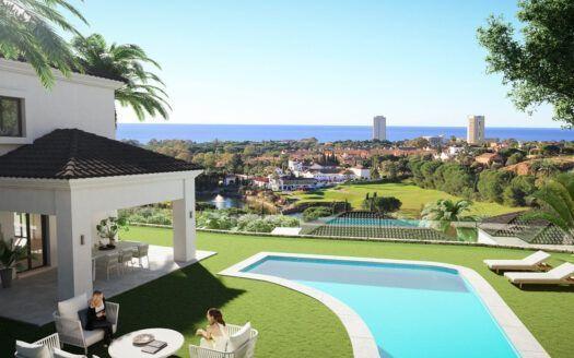 ARFV2152 - 40 Villen bzw. Doppelhaushälften in Golflage in Elviria in Marbella