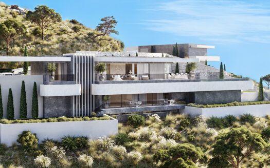 18 Luxusvillen zum Verkauf mit atemberaubender Aussicht in Real de la Quinta