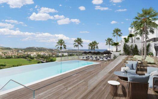 ARFA1423 - Neubauwohnungen in Golflage zum Verkauf bei La Cala de Mijas