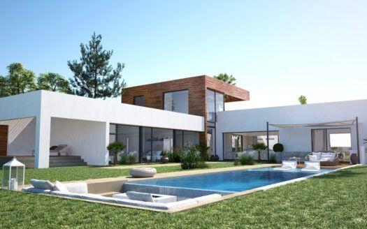 ARFV2186    Projekt für Designer-Villa mit privilegierter Aussicht in Altos de los Monteros in Marbella
