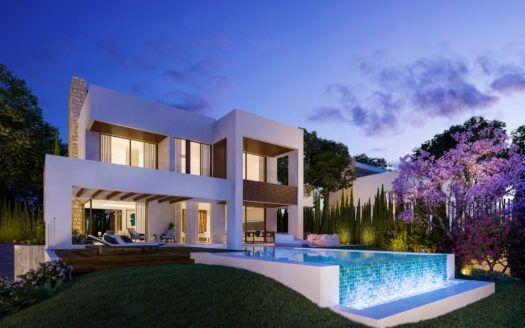 ARFV2189  15 Luxusvillen direkt in Marbella am Rande der Goldenen Meile