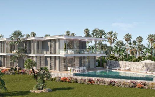 ARFV2150 - Projekt für moderne Villen in Toplage mit Panoramablick in Cabopino in Marbella