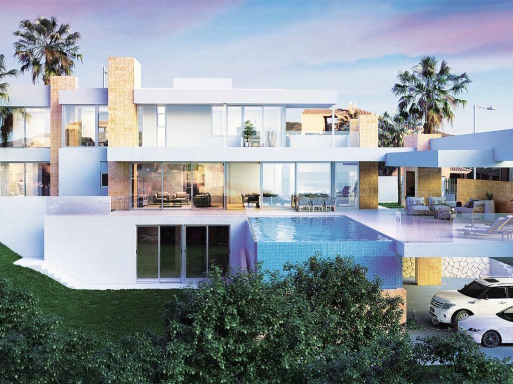 ARFP467 Grundstück mit Baugenehmigung für eine moderne Villa in Elviria